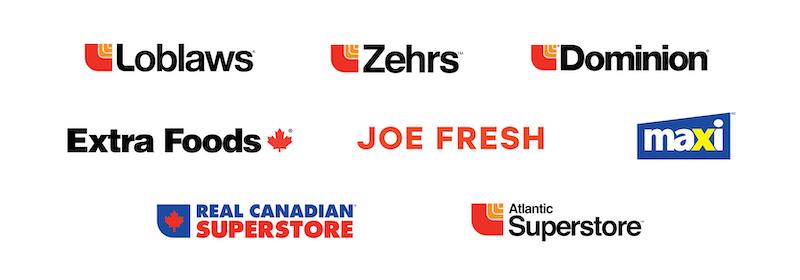 Loblaws Banner Logos